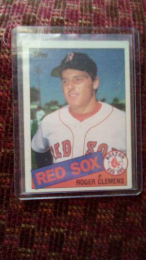 Roger Clemens baseball card for Sale in Greenville, SC