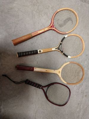 Tennis rackets and one racquetball racket for Sale in Apollo, PA