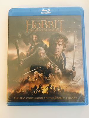 Blu-ray Disc The Hobbit: The Battle of the Five Armies for Sale in Rancho Cucamonga, CA