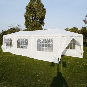 10x30 canopy tents white 5 or 8 wall plus other sizes for Sale in Glendale, AZ