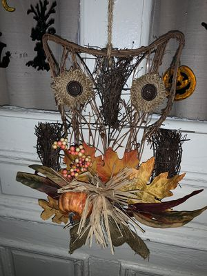 Fall Owl Hanging Decoration for Sale in Mechanicsburg, PA