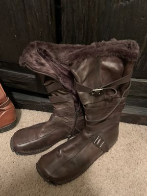 Brown Aldo Boots for Sale in Albuquerque, NM
