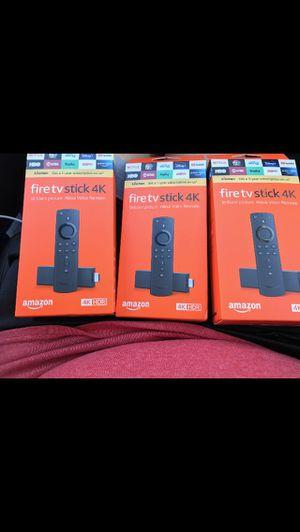 Fire tv stick 4K Alexa voice voice remote for Sale in Vallejo, CA