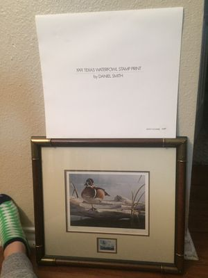 Daniel Smith , Waterfowl Stamp Print for Sale in Corpus Christi, TX