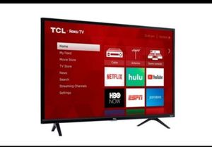 "TV 40"" BRAND NEW 4KSMART ROKU TCL for Sale in Schaumburg, IL"