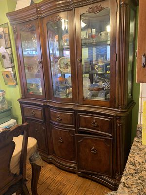Kitchen cabinet with light for Sale in The Bronx, NY