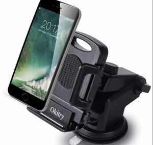 Car Phone Holder with Release Button for iPhone 7 Plus 6s 6 Plus, Samsung Galaxy S8 Edge S7 S6 Note 5, Nexus, Black for Sale in Queens, NY