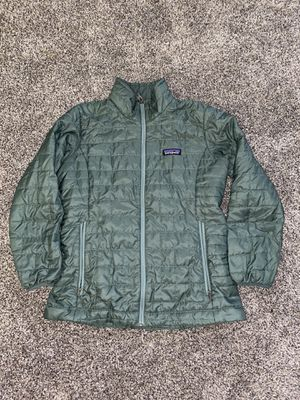 Patagonia nano puff women small green jacket for Sale in Portland, OR