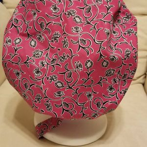 Passionate pink and ivy bouffant scrub hat cap for Sale in Miramar, FL