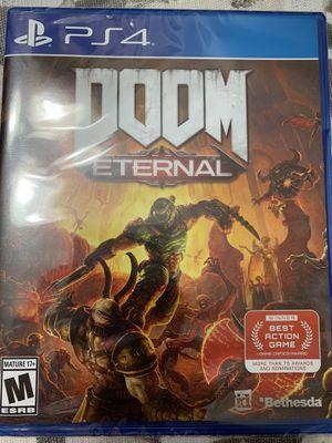 Doom Eternal ps4 for Sale in Annandale, VA