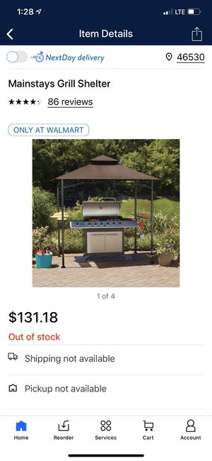 Grill shelter/ tent/ pergola for Sale in Mishawaka, IN