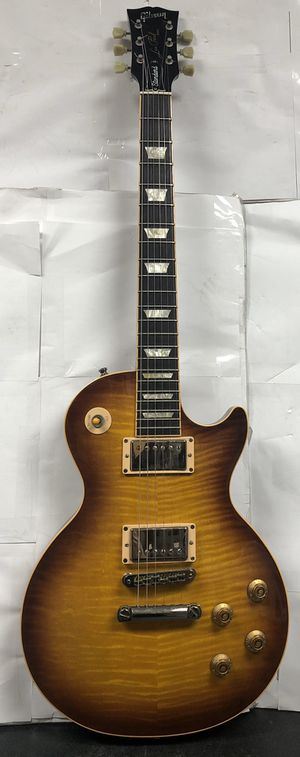 2007 Gibson les Paul standard honey burst with original case for Sale in Hollywood, FL