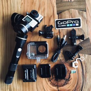 GoPro HERO 4 w/ Gimbal and Accessories for Sale in Portland, OR