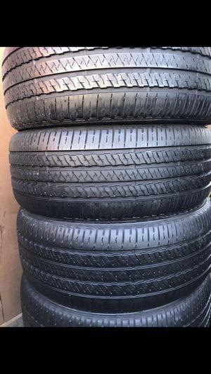 Bridgestone 265/50/20 set of 4 tires for Sale in Redwood City, CA