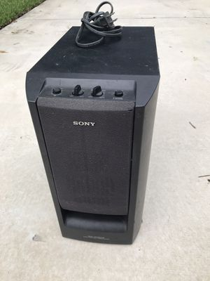 Sony 6.5 inch home theater subwoofer for Sale in Coral Springs, FL
