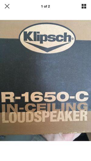 New in box Klipsch R-1650-C speakers for Sale in Lynnwood, WA