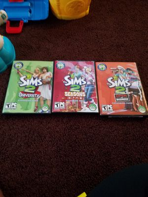 Sims pc games for Sale in Jacksonville, NC