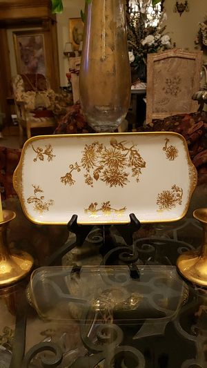 Antique Hammersley bone china platter for Sale in Boynton Beach, FL