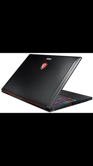MSI GS63 STEALTH 009 Black NEVER BEEN OPENED BRAND NEW ONLY CASH NO TRADES for Sale in Deltona, FL