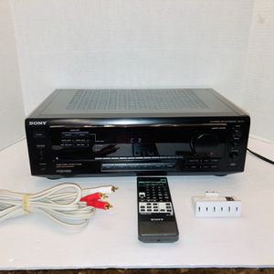 Sony STR-471 Stereo Audio Video 165W Surround Sound Home Theater Receiver for Sale in Spring Hill, FL