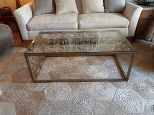 Glass top coffee table for Sale in Indio, CA