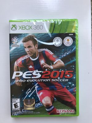 XBOX 360 - PES 2015 - Pro Evolution Soccer video game for Sale for sale  Santa Monica, CA