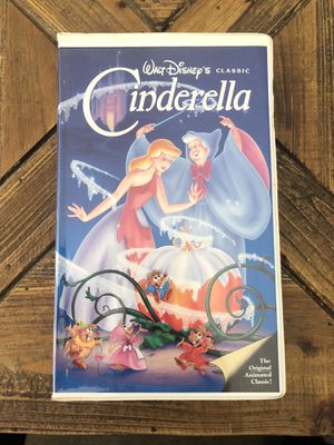 Cinderella Walt Disney Black Diamond VHS Tape for Sale in Mahopac, NY