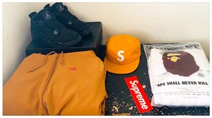 Supreme, Bape, and Jordan for Sale in Millbrae, CA