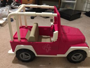 Our Generation Pink Jeep (American Girl style) for Sale in Raleigh, NC