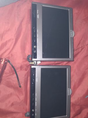 """Audiovox 9"""" led rear dvd mounted players for Sale in Seattle, WA"""