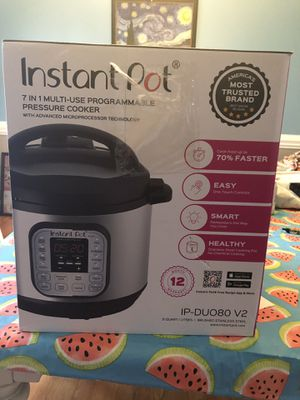8 qt instant pot for Sale in Liberty, NC
