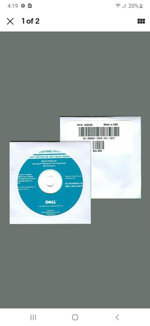 New Windows XP Professional SP3 Reinstall Recovery Disc for Dell Computer Pro CD for Sale in New York, NY