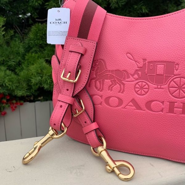 Brand new Coach Jes Pink Leather Hobo Purse