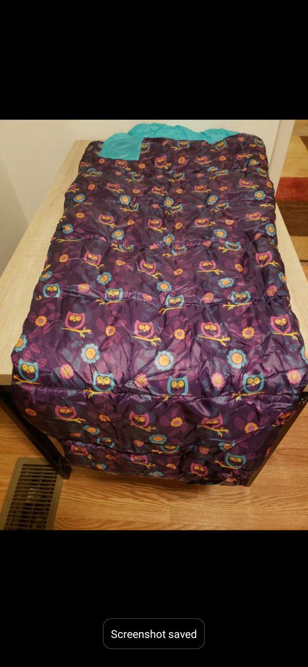 Kids' Hybrid rec bag sleeping bag