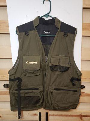 CANON professional photographer's vest, new, XL for Sale in Mukilteo, WA