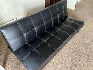 Leather futon for Sale in Cincinnati, OH