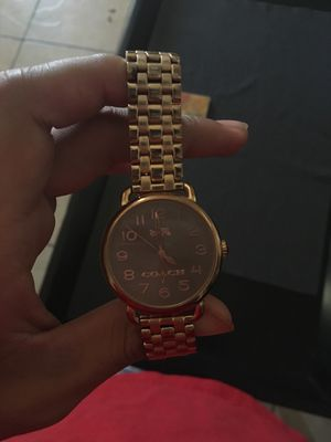 Coach watch for Women for Sale in Tolleson, AZ
