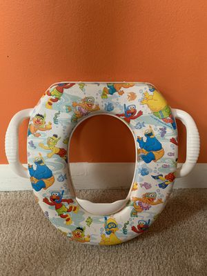 Sesame Street Soft Potty Seat for Sale in Chantilly, VA