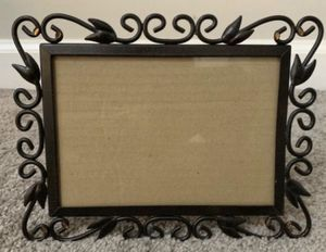 Brown Metal Sconce Tabletop Stand Picture Photo Frame Home Decoration Accent for Sale in Chapel Hill, NC