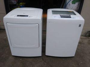Lavadora y secadora. Electric LG for Sale in Houston, TX