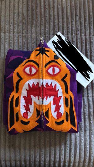 Bape tiger size m for Sale in Denver, CO