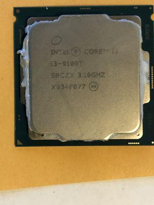Intel i3 9100T 9th generation CPU for Sale in Tempe, AZ