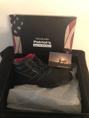 Wilson & Miller steel toe work boot size 12 for Sale in Swedesboro, NJ