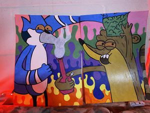 The Regular Show Trippy Drawing for Sale in OH, US