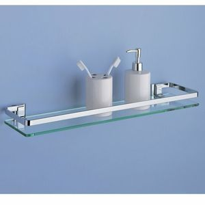 Organize It All Mounting Glass Shelf w Chrome Finish for Sale in Winton, CA