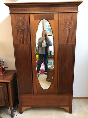 English antique armoire from the turn of the century. for Sale in Puyallup, WA