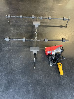 Jeep JK hard top lift / electric winch for Sale in Maitland, FL