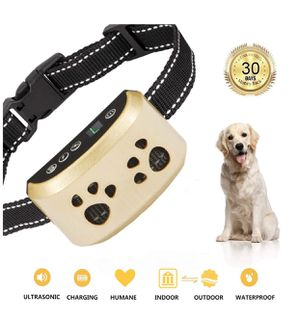 SiBeiXuan Dog Bark Collar-7Adjustable Sensitivity and Intensity Levels-Dual Anti-Barking Modes-Rechargeable-Rainproof-No Barking Control Dog Shock Co for Sale in Montebello, CA