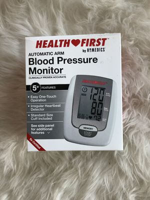 Brand New in the box Health First Blood Pressure Monitor for Sale in Torrance, CA
