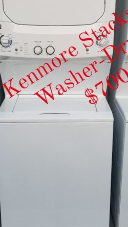 Combo lavadora Y Secadora Kenmore Stackable Washer-Dryer for Sale in Miami,  FL
